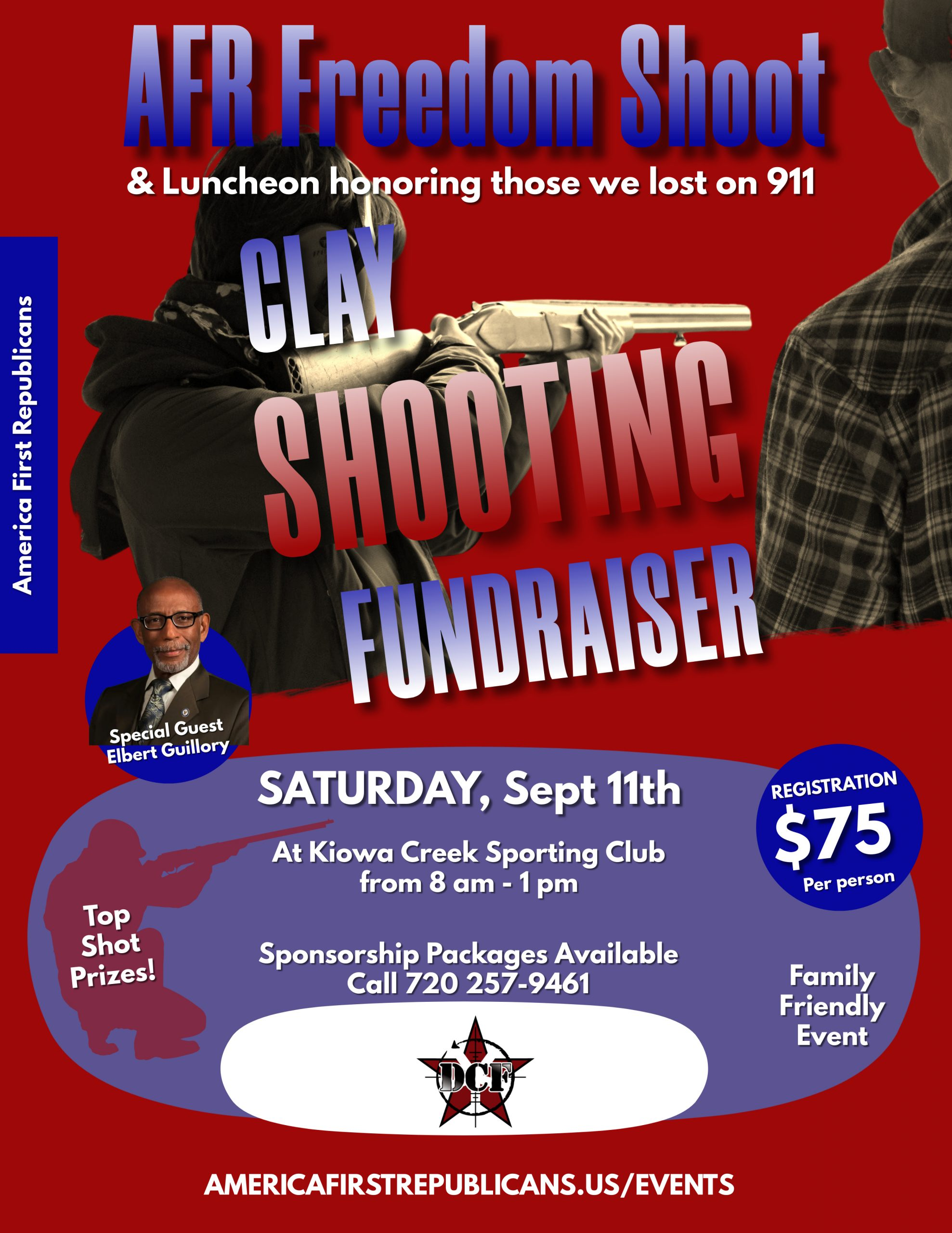 Clay Shooting Competition Flyer-Red (1)