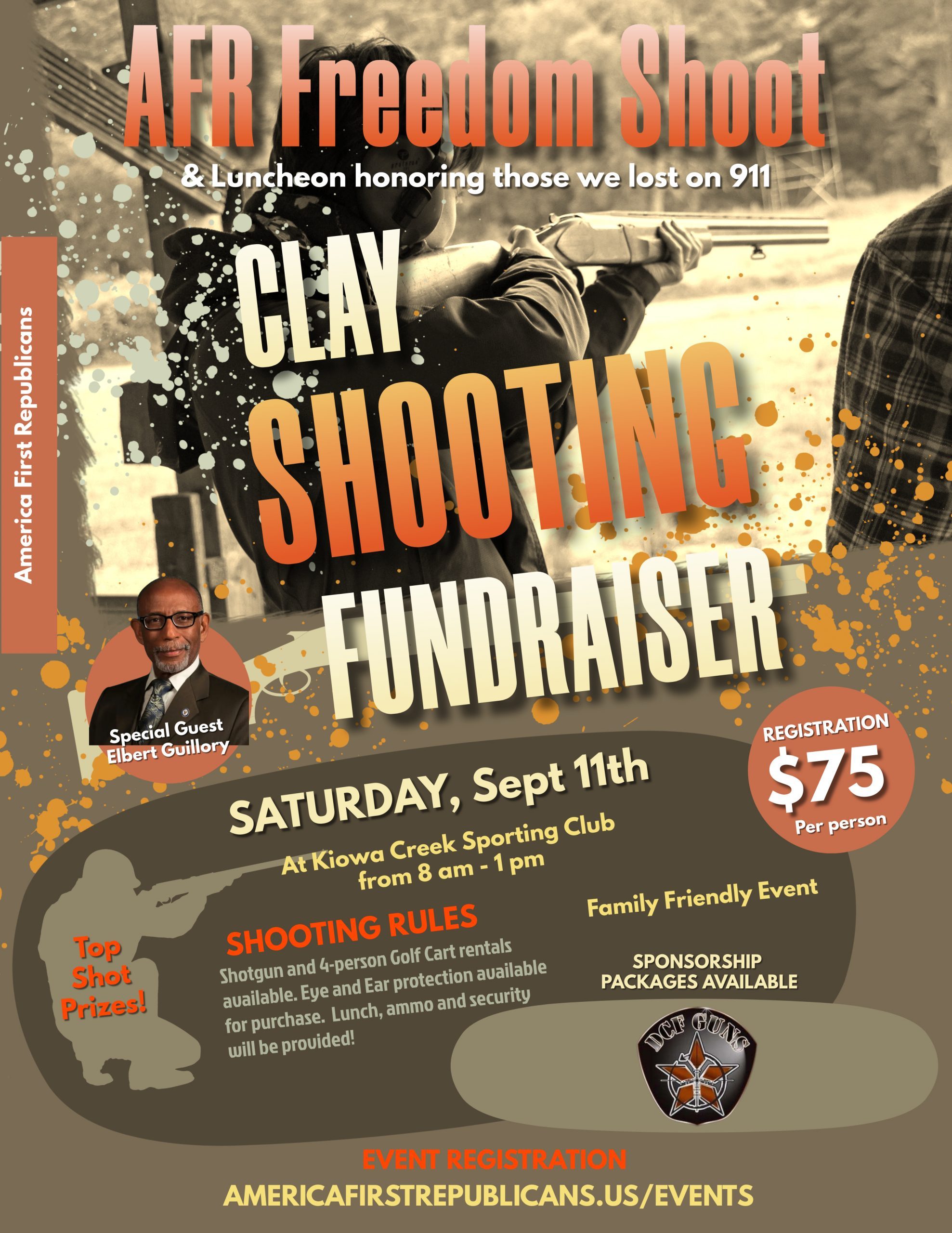 Copy of Clay Shooting Competition Flyer